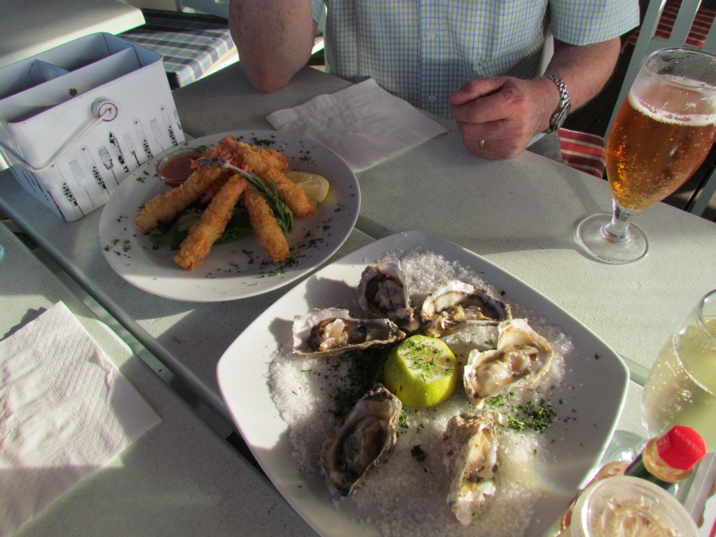 Oysters in Paternoster