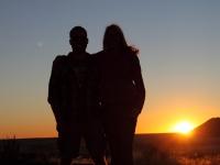 Namibia first sunrise