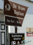Our stay in Calitzdorp in one signpost