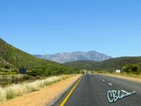 Leaving Calitzdorp
