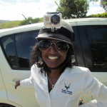 Our happy organiser - Maleshni Pather  from SanParks