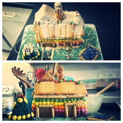 Our little lcgingerbreadhouse entry Made with love in plettenbergbay andhellip