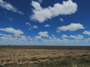 Endless karoo landscape.