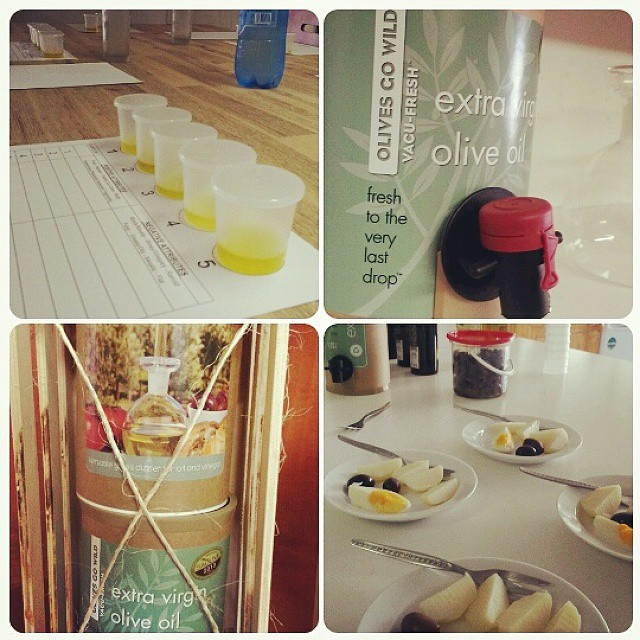 #Oliveoil tasting and appreciation training by Olives Gone Wild. Yum.  #food #meetsouthafrica #loveSA #olives #foodie #travelwriting #theoliveroute