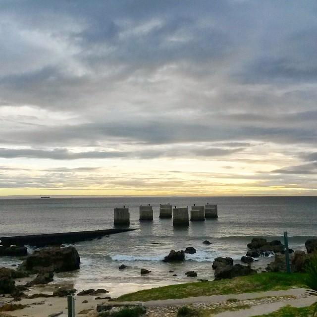 I have great beauty in the morning skies here in #cityofpe.  #sunrise #morninglight #sea #bridge #clouds #cloudporn #sky #thisissouthafrica