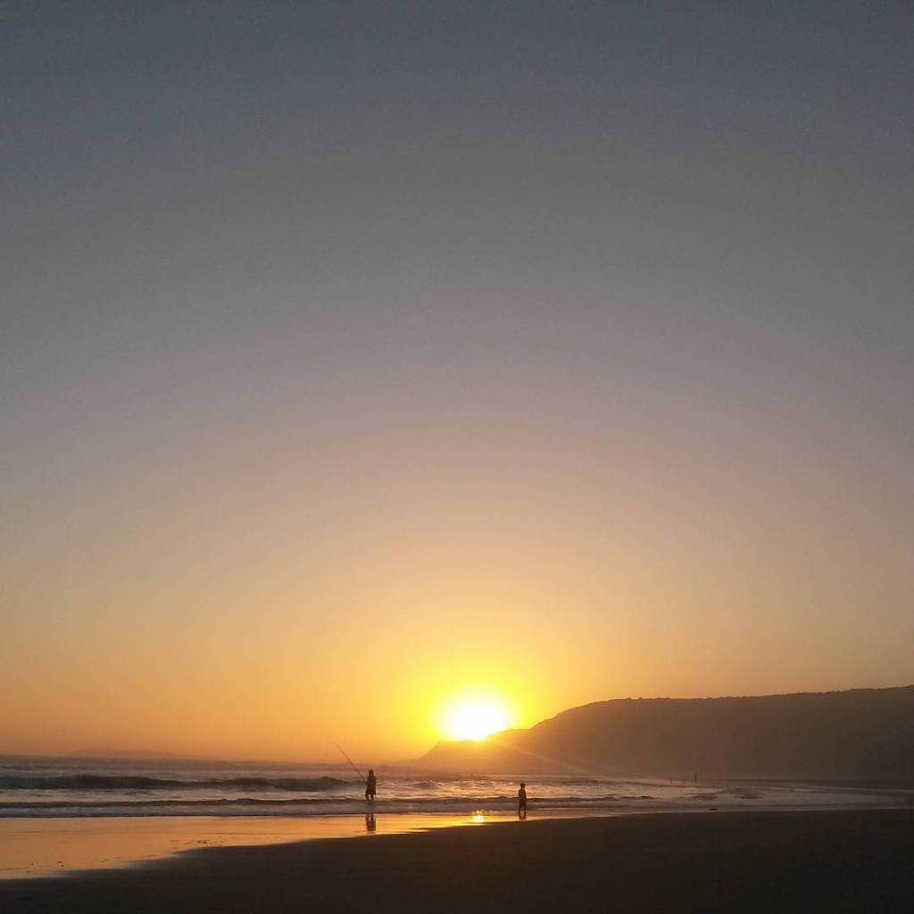 Summer sunsets in Natures Valley gardenroute Warming the soul nofilterhellip