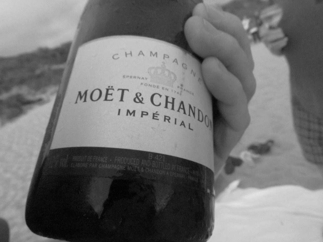Champagne spoilers