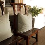 Mushara outpost detail cushions